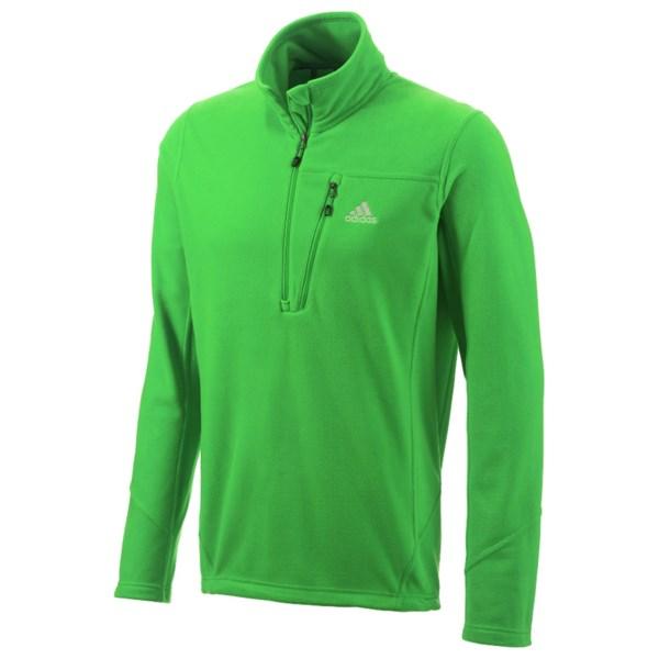 Adidas Hiking Reachout Fleece Pullover - Zip Neck, Long Sleeve (For Men)