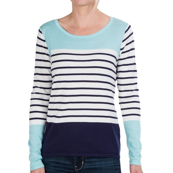 CLOSEOUTS . Black and white stripes take a splashy turn at the yoke and extended cuffs, where they appear in your choice of beige or pale blue. Nothing like an August Silk Color-Block shirt to add a note of unexpected to your wardrobe. Available Colors: BEIGE/BLACK COMBO, BLUE/WHITE. Sizes: S, M, L, XL.