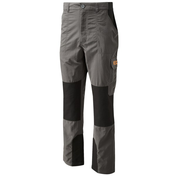 CLOSEOUTS . The signature pant of the ultimate survivalist, Craghoppers Bear Grylls Survivor trouser pants deliver performance suitable for any situation. Sun-protective fabric with stretch panels offers excellent mobility and durability. Available Colors: DARK KHAKI/BLACK, METAL/BLACK, BLACK PEPPER/BLACK.