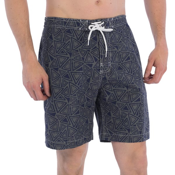 Trunks Surf and Swim Co. Swami Print Swim Trunks - 8? (For Men)