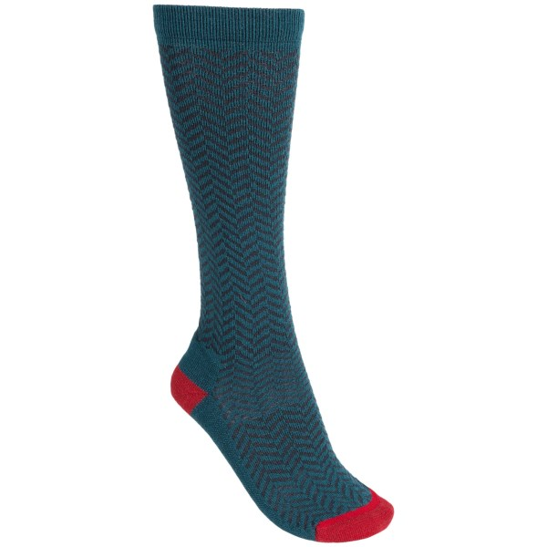 Woolrich Fair Isle Knee-high Socks - Merino Wool, Over-the-calf (for Women)