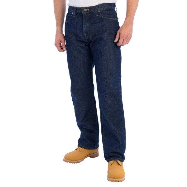 Dickies Flannel-Lined Work Jeans - Relaxed Fit (For Men)