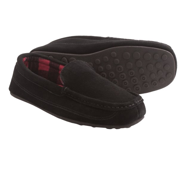 HideAways by L.B. Evans Anton Slippers - Suede (For Men)