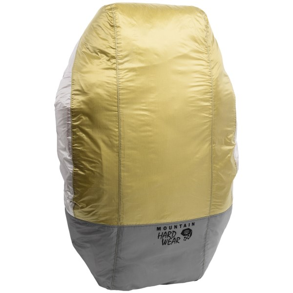 CLOSEOUTS . Made from super-lightweight and durable tent fabrics, Mountain Hardwearand#39;s backpack rain cover has a fitted, watertight construction with an adjustable drawcord for extra security from adverse conditions. Available Colors: WASABI. Sizes: S, M, L.