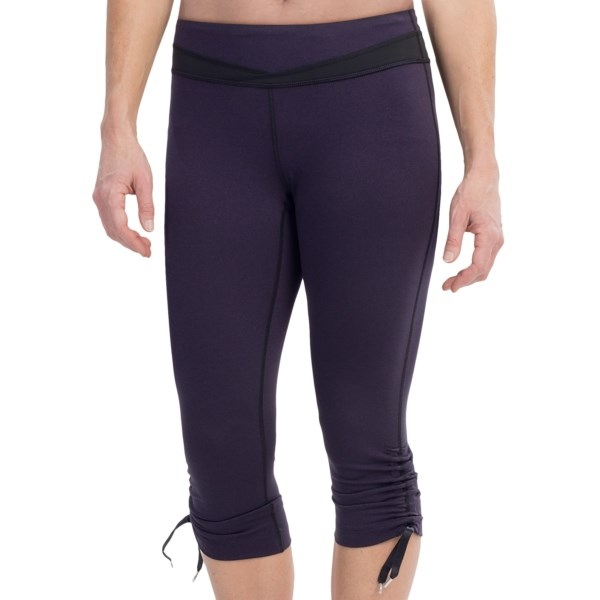 lucy Hatha Convertible Capris Leggings (For Women)