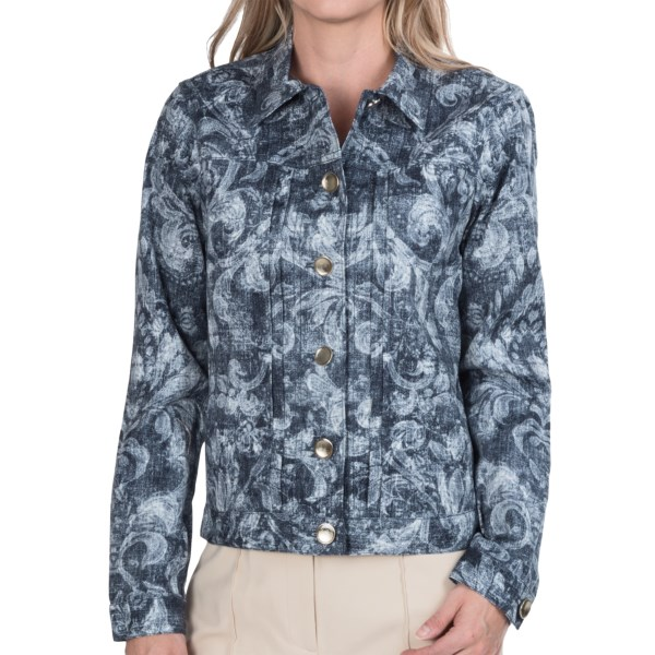 CLOSEOUTS . A smoky, whispy damask unfolds atop Paperwhiteand#39;s Limonchello printed jacket, topped with a dazzling array of buttons that positively shine once the light hits them. Available Colors: MULTI. Sizes: 2, 4, 6, 8, 10, 12, 14, 16.