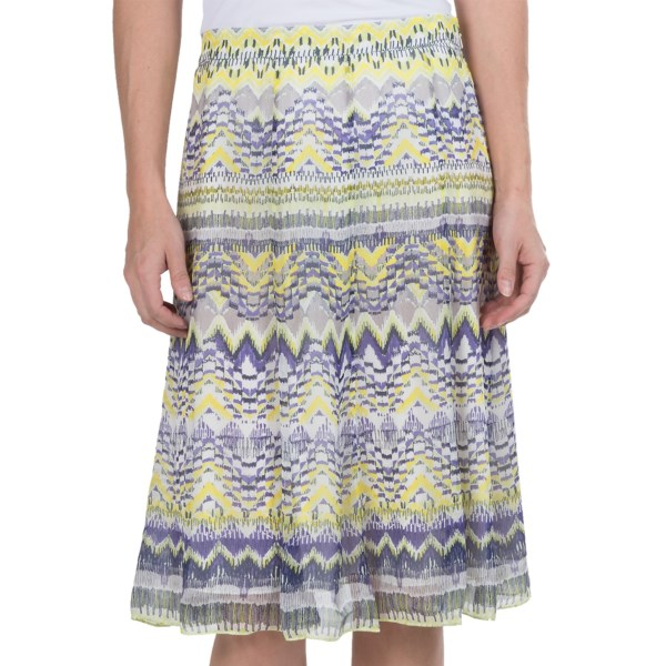 Paperwhite Limoncello Printed Skirt (For Women)