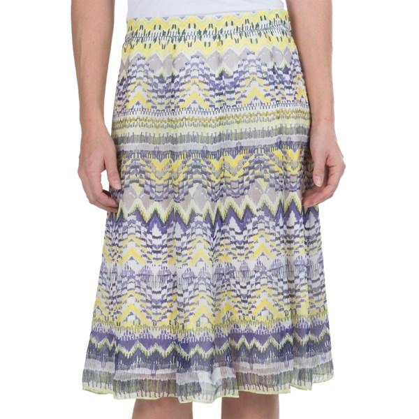 Paperwhite Limoncello Printed Skirt (For Women)