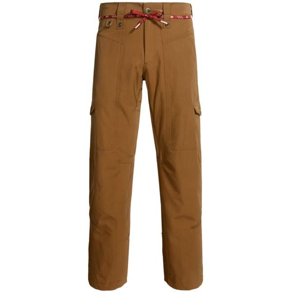Bonfire Davis Classic Fit Snowboard Pants - Waterproof (for Men)