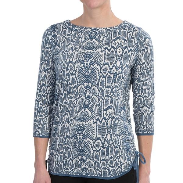 FDJ French Dressing Serpentine Print Shirt - Stretch Viscose, 3/4 Sleeve (For Women)