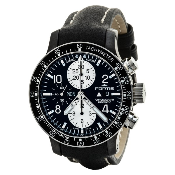 Fortis B 42 Stratoliner Chronograph Automatic Tachymeter Watch (For Men)