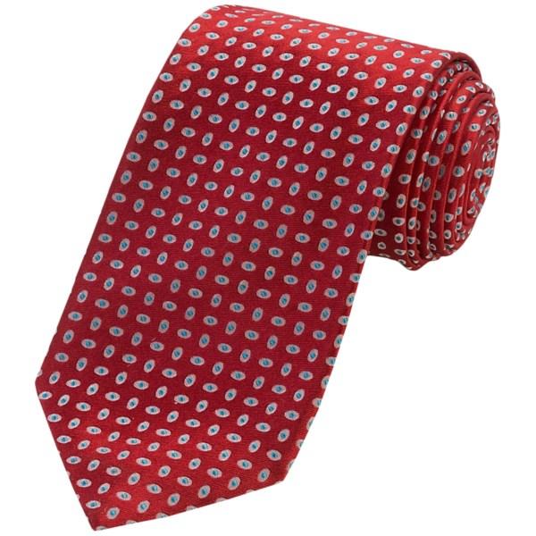 Altea Neat Dot Tie - Silk (For Men)
