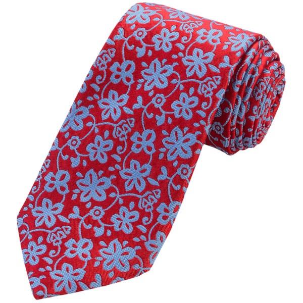 Altea Textured Floral Tie - Silk (For Men)