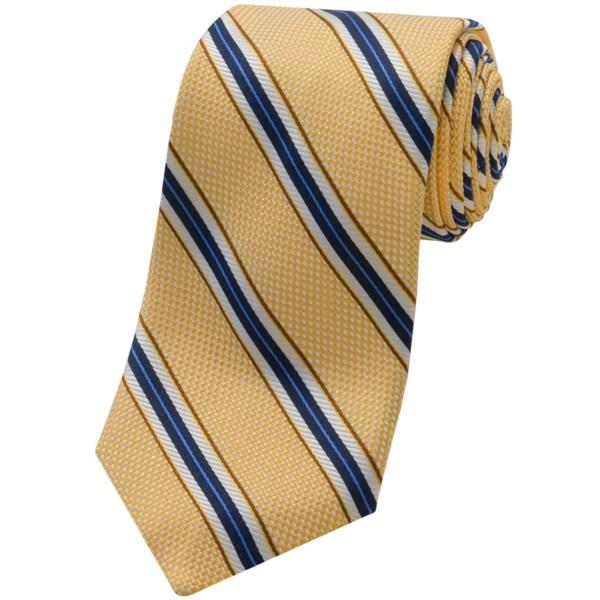 Altea Textured Stripe Tie - Silk (for Men)