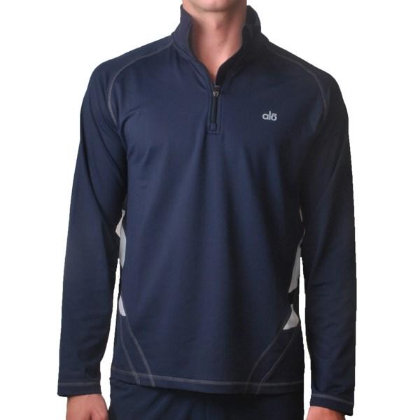 Alo Speed Pullover - Zip Neck, Long Sleeve (For Men)