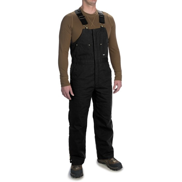 Walls Heavyweight Duck Bib Overalls - Insulated (For Men)