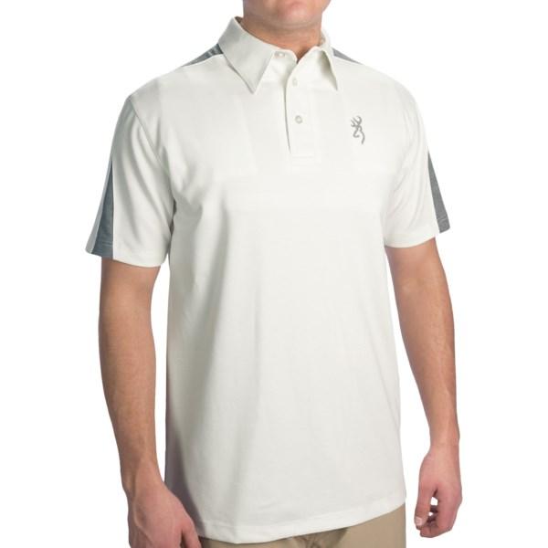 Browning Highline Shooting Polo Shirt - Short Sleeve (for Men)