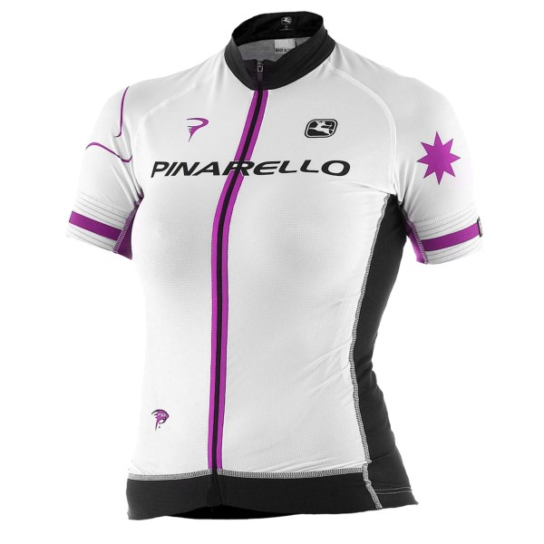 Pinarello by Giordana Stars FR-C Trade Cycling Jersey - Full Zip, Short Sleeve (For Women)