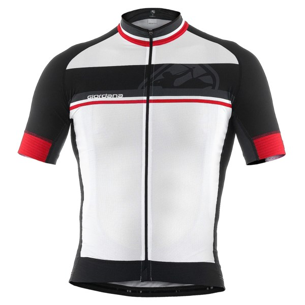 Giordana FR-C Bands Cycling Jersey - Full Zip, Short Sleeve (For Men)