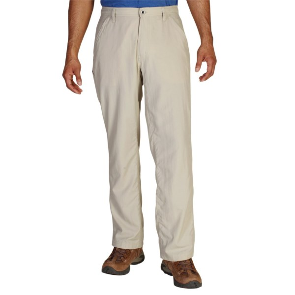 CLOSEOUTS . Great for fishing and everyday wear, ExOfficioand#39;s Pescatore pants keep you cool with lightweight, breathable nylon fabric and also include built-in sun protection to block harmful UV rays. Available Colors: BONE, WALNUT.