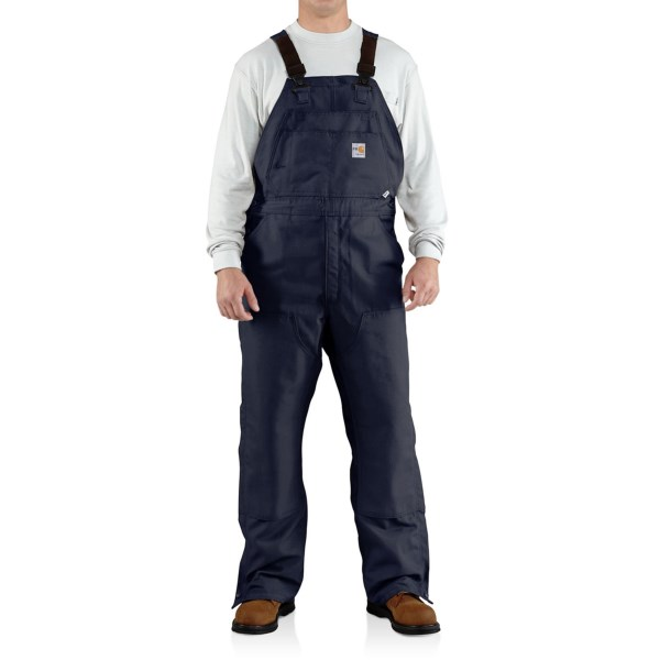 Carhartt Flame-Resistant Canvas Bib Overalls (For Men)