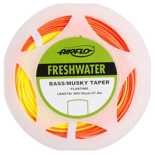 Airflo Ridge Warm Freshwater Bass/Muskie Floating Fly Line - 90?, Weight Forward