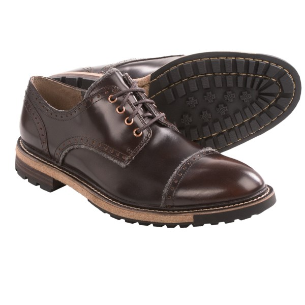 CLOSEOUTS . Woolrich Machinist shoes move easily between the boardroom and the jobsite. Underneath the smooth leather upper with stylish detailing is a stiff, lugged rubber outsole. Available Colors: METAL/BLACK, KOA/ASH. Sizes: 8, 8.5, 9, 9.5, 10, 10.5, 11, 11.5, 12, 13.