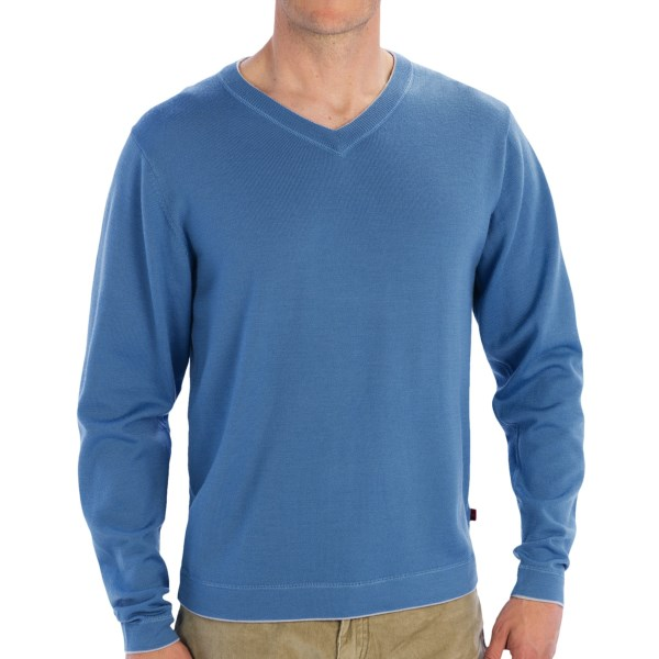 Mountain Khakis Cascade Sweater - Merino Wool, V-neck (for Men)