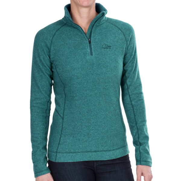 CLOSEOUTS . Luxuriously soft, warm, breathable and quick-drying Aleutianand#174; microfleece makes Lowe Alpineand#39;s Elektra pullover an instant all-star in your cold weather repertoire. Available Colors: GRANITE, LAGOON, ROSEHIP. Sizes: 8, 10, 12, 14, 16.