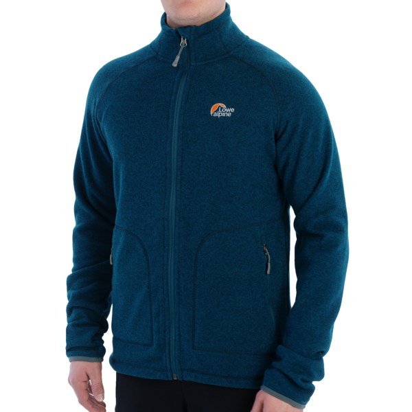 CLOSEOUTS . Take the Lowe Alpine Odyssey Fleece along on your next extended voyage. The Aleutian fleece has a knit look for added style and itand#39;s warm enough to serve as a stand-alone piece. Available Colors: GRANITE, INK, WREN. Sizes: S, M, L, XL, 2XL.
