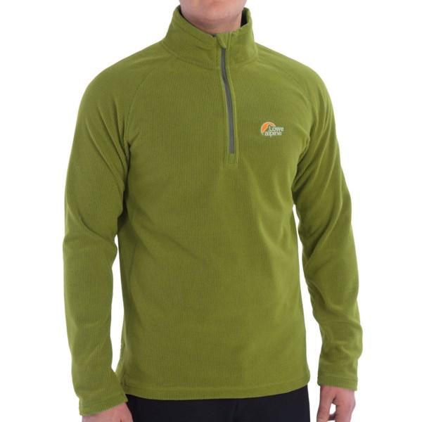 Lowe Alpine Grid Fleece Pullover Jacket- Zip Neck (for Men)