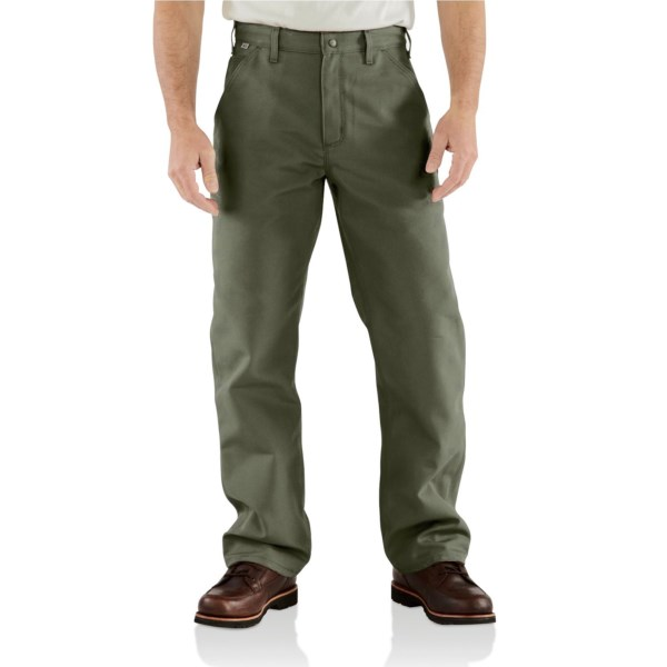 Carhartt Flame Resistant Duck Work Dungarees (for Big And Tall Men)