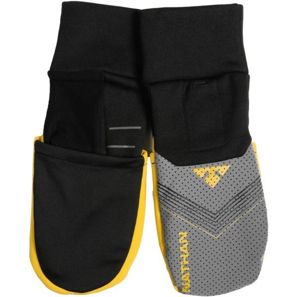 Nathan Ranger Reflective Convertible Running Gloves/mittens - Touch-screen Compatible (for Men)