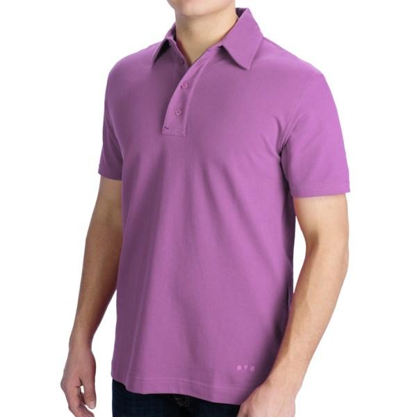 VK Nagrani Polo Classico Shirt - Stretch Pima Cotton, Short Sleeve (For Men)