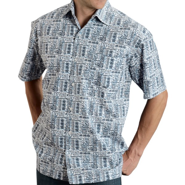 Roper Amarillo Tropical Print Shirt - Short Sleeve (For Men)