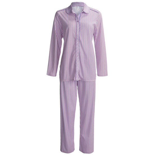 Calida Sweet Harmony Pajamas - Long Sleeve (for Women)