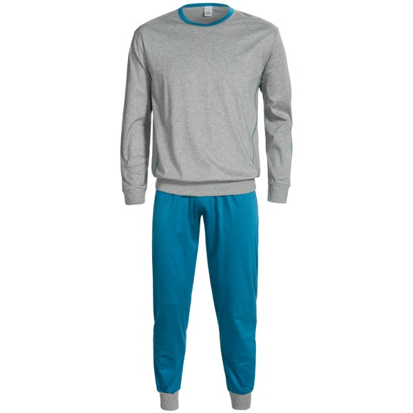 Calida Spirit Pajamas - Cotton, Long Sleeve (For Men)