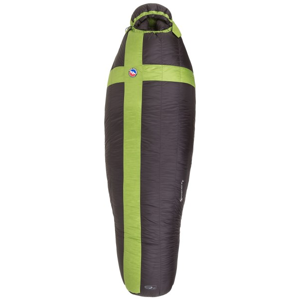CLOSEOUTS . Big Agnes 0and#176;F Pomer Hoit SL sleeping bag combines lightweight versatility with a long line of packable creature comforts for a good nightand#39;s sleep under the stars. Available Colors: BLACK/GREEN.