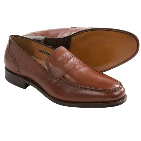 Florsheim Cable Penny Loafers - Leather (For Men)