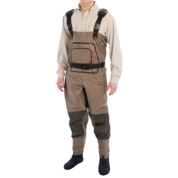 Hodgman Pipestone Breathable Chest Waders - Stockingfoot (For Men)
