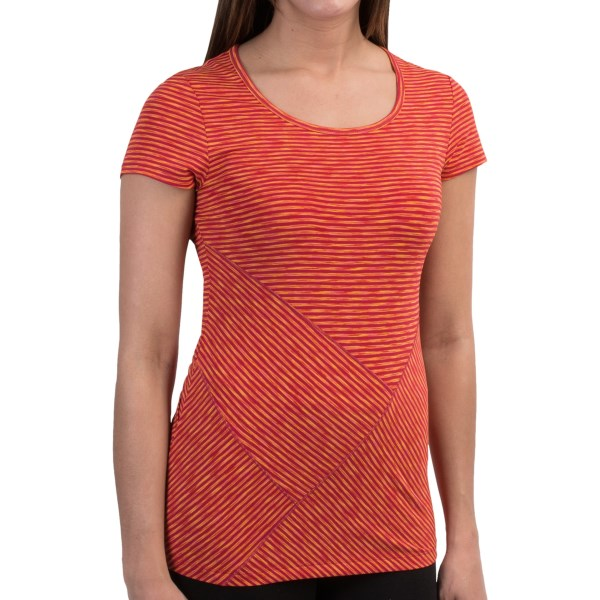 Lole Curl T-shirt - Upf 50 , Short Sleeve (for Women)