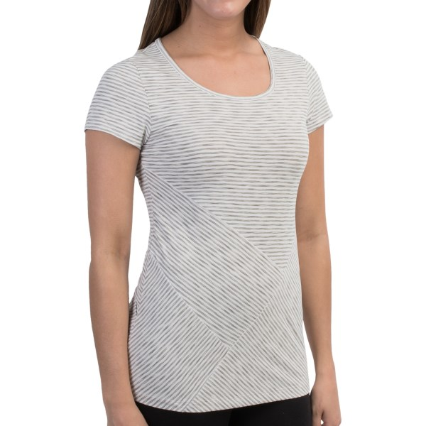 Lole Curl T-Shirt - UPF 50 , Short Sleeve (For Women)