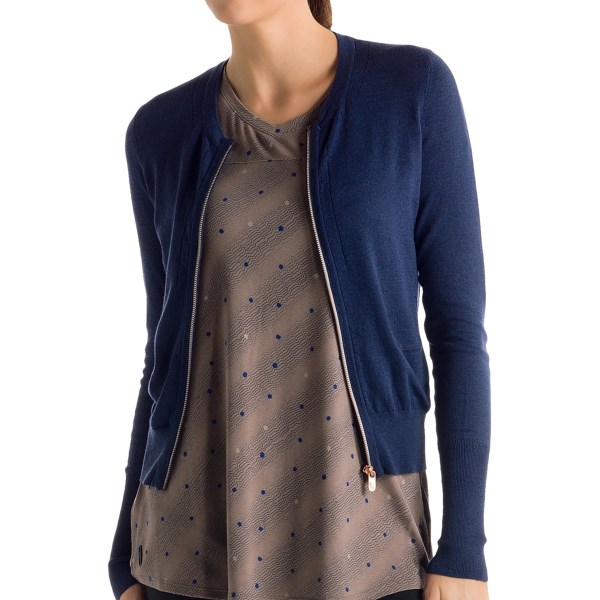 Lole Marbella Cardigan Sweater - Zip Front (For Women)