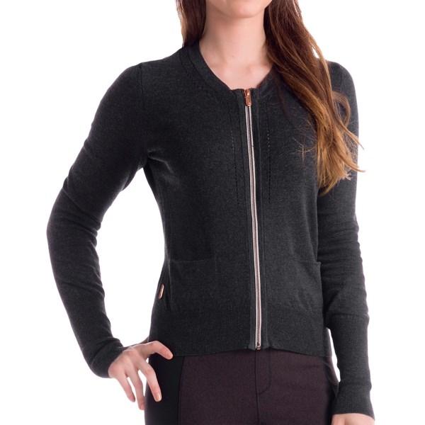 Lole Marbella Cardigan Sweater - Zip Front (For Women)