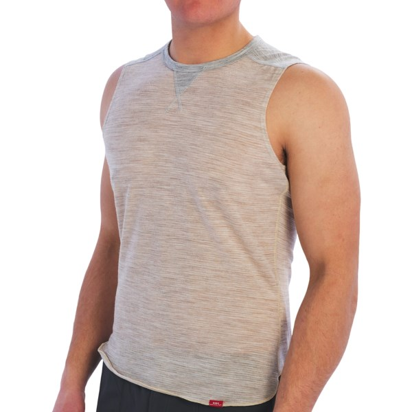 Giro Base Layer Top - Merino Wool Blend, Sleeveless (For Men)