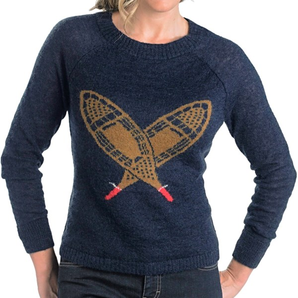 Woolrich Motif Mohair Sweater (For Women)