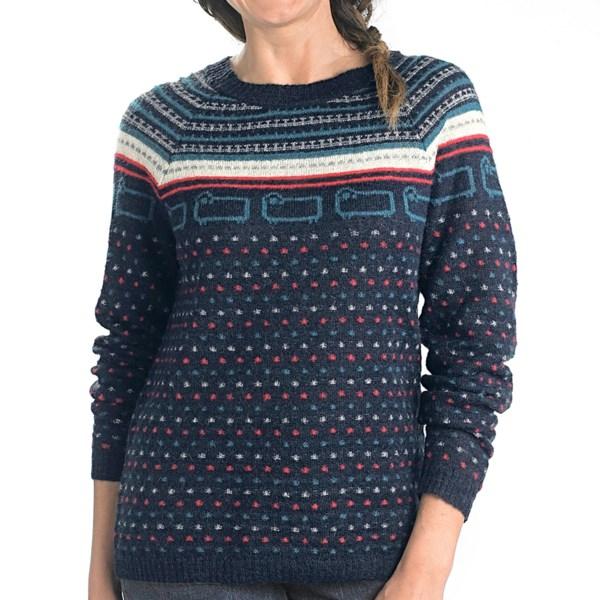 Woolrich Bateau Fair Isle Sweater (For Women)