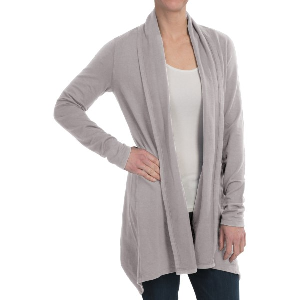 Gramicci Enza Organic French Terry Wrap UPF 50, Hemp Organic Cotto, Long Sleeve (For Women)