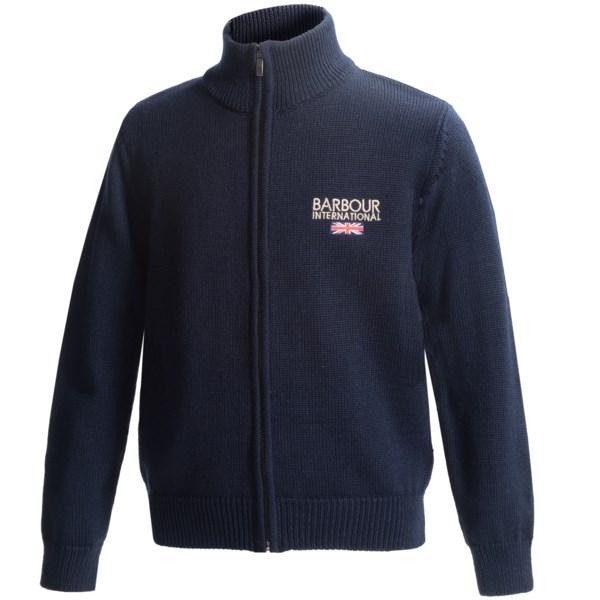 Barbour Rider Cardigan Sweater - Merino Wool (For Boys)