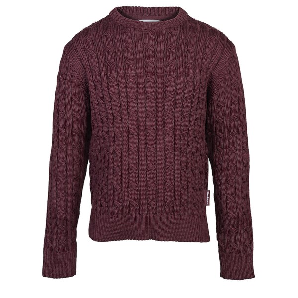 Barbour Pantone Cable-Knit Lambswool Sweater - Crew Neck (For Boys)